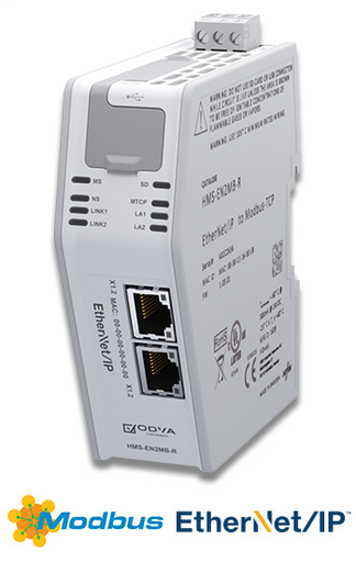 EthernetI/P Adapter/Slave to Modbus TCP Client / Master