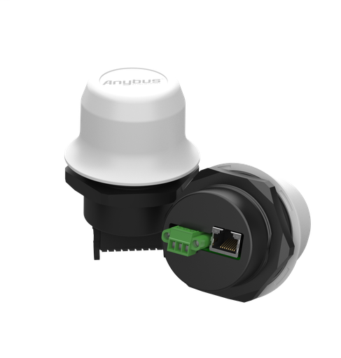 """Anybus Wireless Bolt with RJ45 and PoE - Color: White, """"Sunbolt"""""""