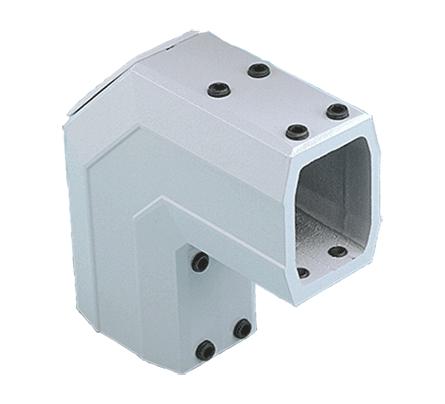 HFM CCS2EHDLG 90D PENDANT ELL FITS 45x60mm ALUM/LT GRAY