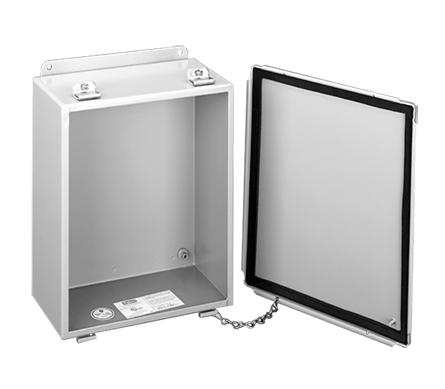 HOFF A806LP WIRE BOX W/CL CVR