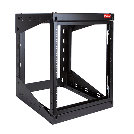Mayer-VERSARACK™ is used for wall mounting and securing 19-inch rack equipment for Telecommunication Rooms and other locations. The rack provides for either left or right hinging to accommodate a variety of applications. These open frame racks are ideal for high-density cabling application. VERSARACK is ideal for IDFs (Intermediate Distribution Frames), remote 19-inch rack equipment, building automation, security and many other applications.-1