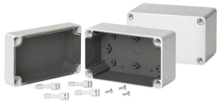 Hoffman Q13138PCEMC QLINE E, EMC, Type 4X, 125x 125x 74mm, Polycarbonate