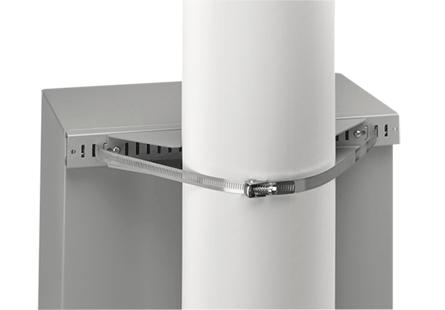 Hoffman CPMK30 Stainless Steel Enclosure Pole Mounting Kit