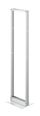 HOFFMAN 2-Post Open Frame Rack - EVR19FM45U