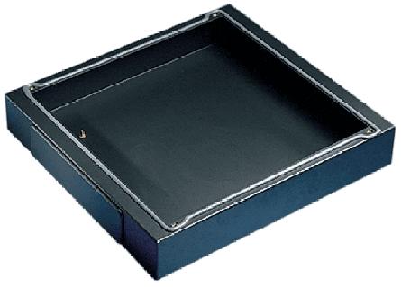 Hoffman PB168 599 x 759 x 100 mm 16 Gauge Steel Solid Enclosure Base