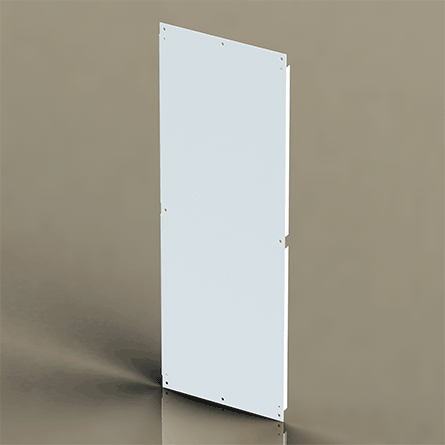 Hoffman A72SMP14 60 x 14 Inch Painted Steel Side Mount Panel