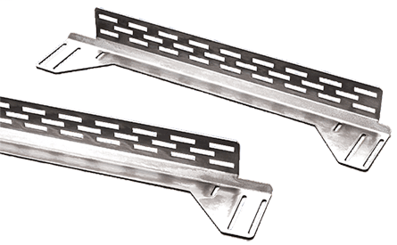 Hoffman PBARA8 711 mm 12? Gauge Steel Adjustable? Rack Mounting Rail