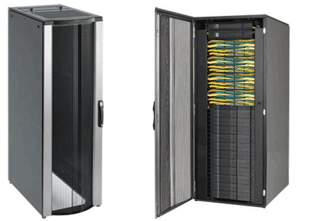 Hoffman PNC20710B 1991 x 708 x 999 mm Black Network Communication Cabinet