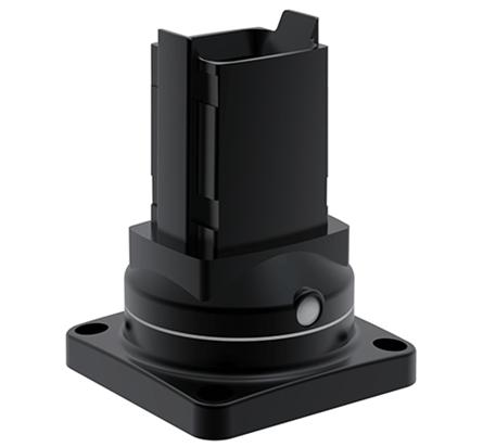 Hoffman S2MRB Black Die-Cast Aluminum Suspension System Rotary Base