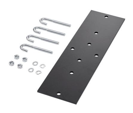 Mayer-Rack-to-Runway Mounting Plate Kit - LRRMPBLK-1