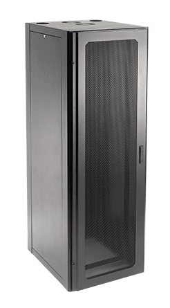 Hoffman NCW2178 2100 x 700 x 800 mm Black Window Door Net Series Communication and Server Cabinet