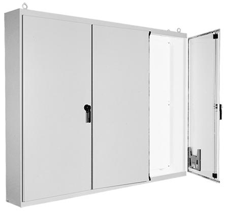 Hoffman A86M3E20 86.12 x 112 x 20.12 Inch White Steel NEMA 12 Free Stand Enclosure