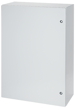 Hoffman CSD423612LG 42 x 36 x 12 Inch Light Gray 14 Gauge Steel NEMA 4/12 1-Door Wall Mount Enclosure