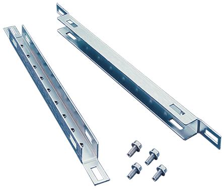 Hoffman PGH1S8D 800 mm Steel 1-Row Wide Door Enclosure Grid? Strap