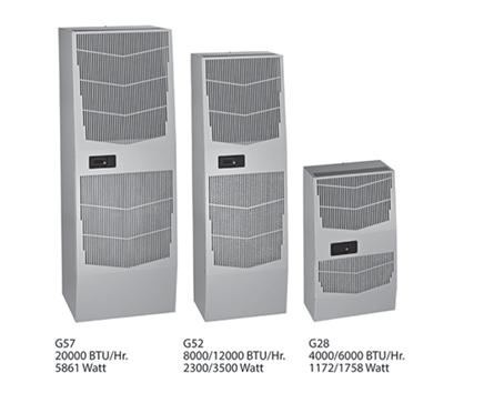 Hoffman G572046G050 20000 BTU/HR 460 Volt 3-Phase Sealed Enclosure Cooling Air Conditioner