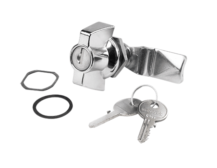 Hoffman DL36 Silver Locking Wing Nut