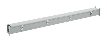 Hoffman F22L120 2.5 x 2.5 x 120 Inch NEMA 12 Gray Steel Lay-In Wireway Straight Section