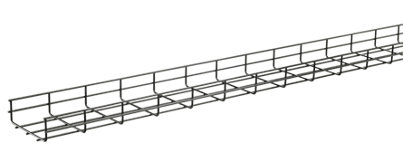 Quick Tray Pro Wire Mesh Cable Tray System - QTP6X8
