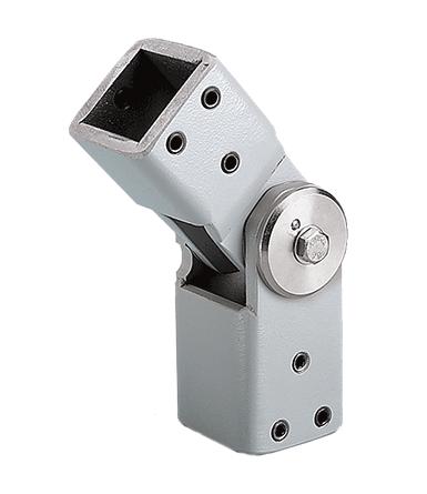 Hoffman CCS8IJRLG COMPACT Series 4 Intermediate Joint, fits 80x 80mm, Lt Gray, Steel