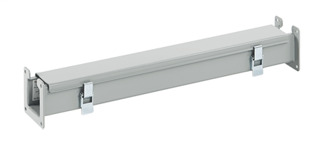 Lay-In NEMA Type 12 Wireway Straight Section - F126L24