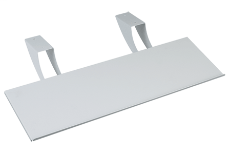 Hoffman CKBT Light Gray Polyester Powder Painted Keyboard Tray