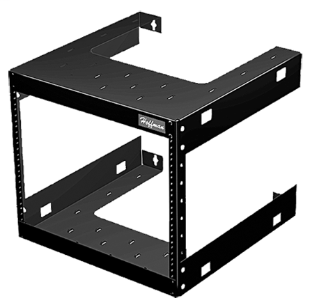 19-in. Fixed Wall-Mount Rack - E19FWM12U20