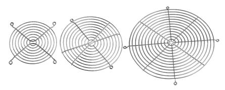 Hoffman AGARD6 Compact Axial Fan Finger Guard