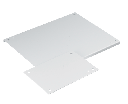 Hoffman A16P16G 13 x 13 Inch Galvanized Steel Enclosure Panel