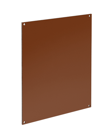 Hoffman A6P6C 4.88 x 4.88 Inch Steel Enclosure Panel