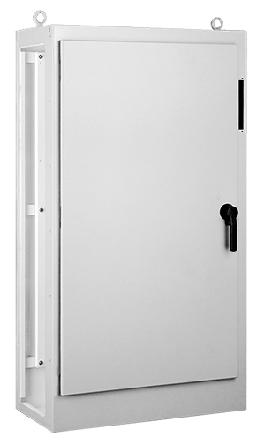 Hoffman AMOD72X7818FTCLP 72.12 x 78.5 x 18.12 Inch NEMA 12 2-Door Modular Slave Disconnect Enclosure
