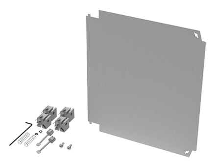 Hoffman A1614PSWPNL 15 x 13.62 Inch Aluminum Enclosure Swing-Out Panel