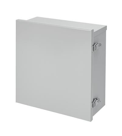 Hoffman A16R126HCLO 16 x 12 x 6 Inch 16 Gauge Galvanized Steel NEMA 3R Lift-Off Hinge Cover Enclosure
