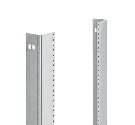 Hoffman A90RP24F5 45-Unit Steel L Style Rack Mount Angle