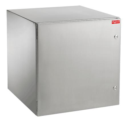 ProTek Solid Stainless Steel Door,NEMA Type 4, 4X, 12 - PTRS242412X