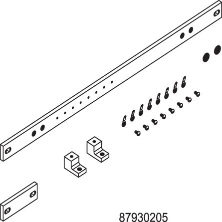 Horizontal Ground Bar Kits - DG19