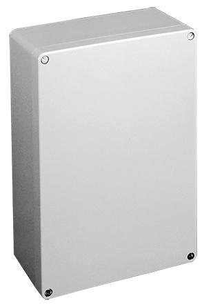 Hoffman CCA12128 122 x 122 x 80 mm Gray Cast Aluminum NEMA 4X Enclosure