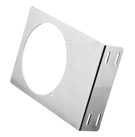 Hoffman ABRKT4 6 x 5 x 1.5 Inch Steel Fan Bracket