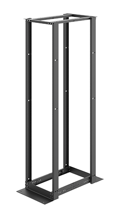 Mayer-4-Post Open Frame Rack - E4DR19FM45U-1