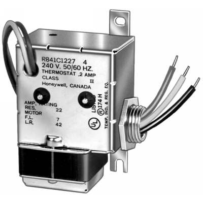 Electric Heater Relay W. SPST Switching