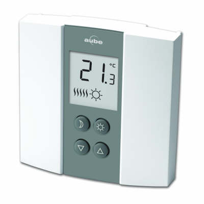 AUBE TH13501B TH135-01-B 24V LOW VOLTAGE THERMOSTAT NON-PROGRAMMABLE
