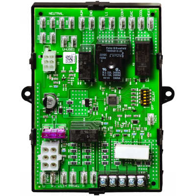 Universal electronic fan timer replaces Honeywell ST9120, ST9101, ST9141, and ST9160 models.
