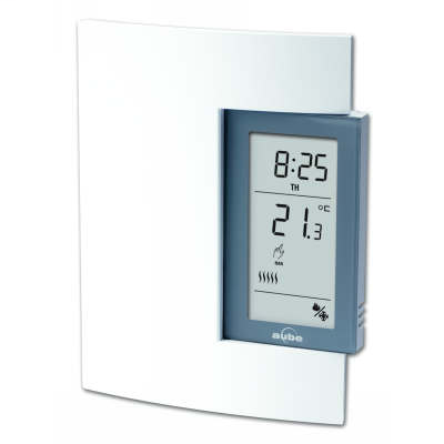 AUBE TH141HC28B TH141HC-28-B HEATING & COOLING THERMOSTAT PROGRAMMABLE