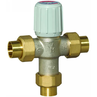 1 inch Sweat Union Mixing Valves