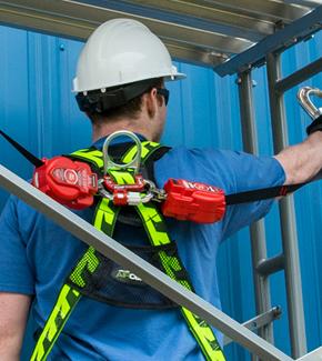 Steel snap hooks; 3,600 lb. gate strength MFLC-3-Z7/6FT