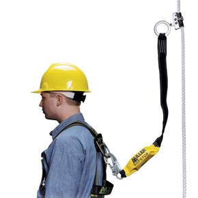 50-ft. length, 5/8-in. dia. polypropylene blend, 1 snap hook and 1 loop 300L-Z7/50FTBL