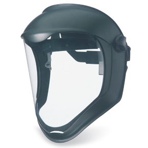 Clear Polycarbonate, Uncoated Visor, Black Matte Shell S8500