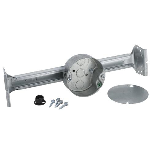 "RACO 926-1 Ceiling Fan Box w/Brace, 1-1/2"" Deep Round Box (New Work) ***"