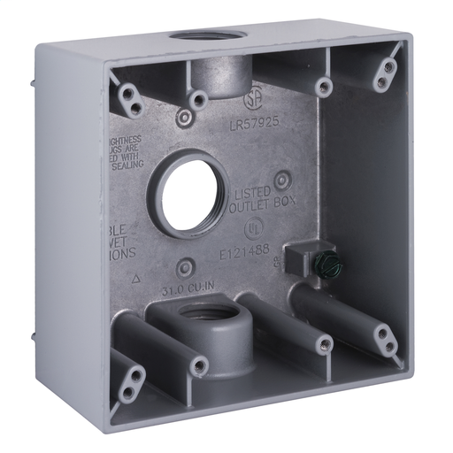 Boxes Enclosures Fittings Weatherproof Boxes Covers Metallic