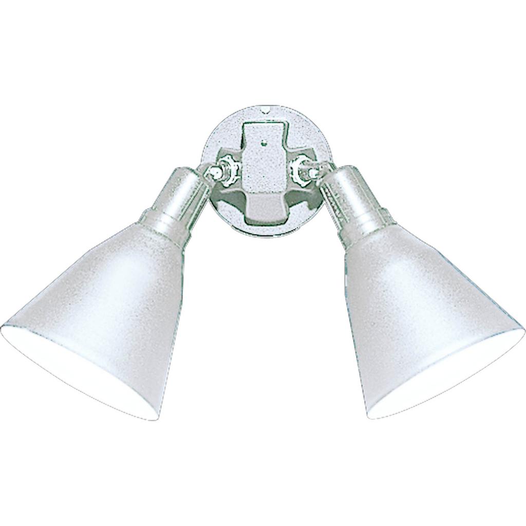 PROG P5203-30 2-150W DOUBLE FLOOD WHITE