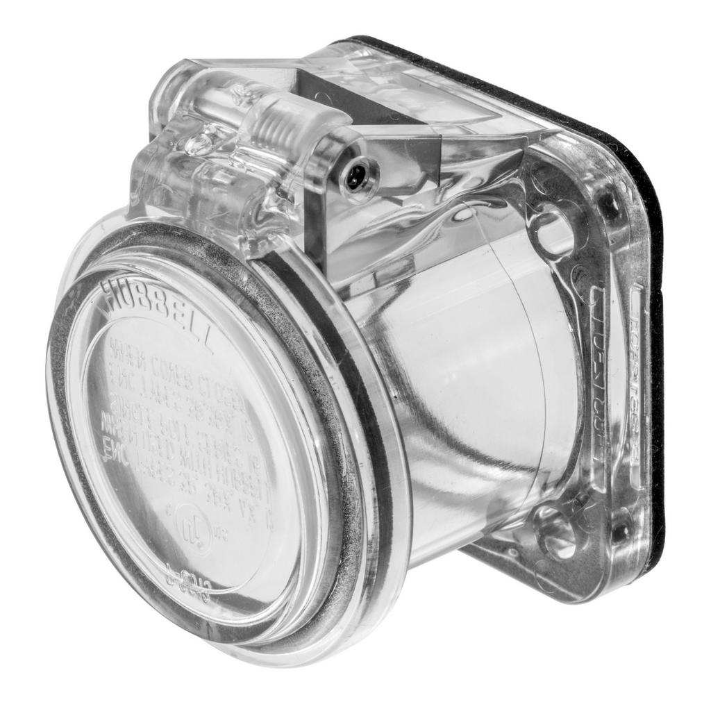 Singlepole Products, Non-Metallic Cover, Clear